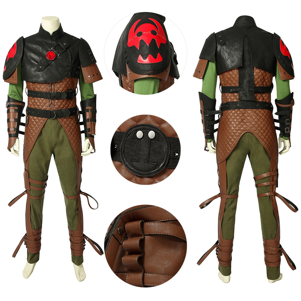 Hiccup Suit How to Train Your Dragon Cosplay Costume Edition