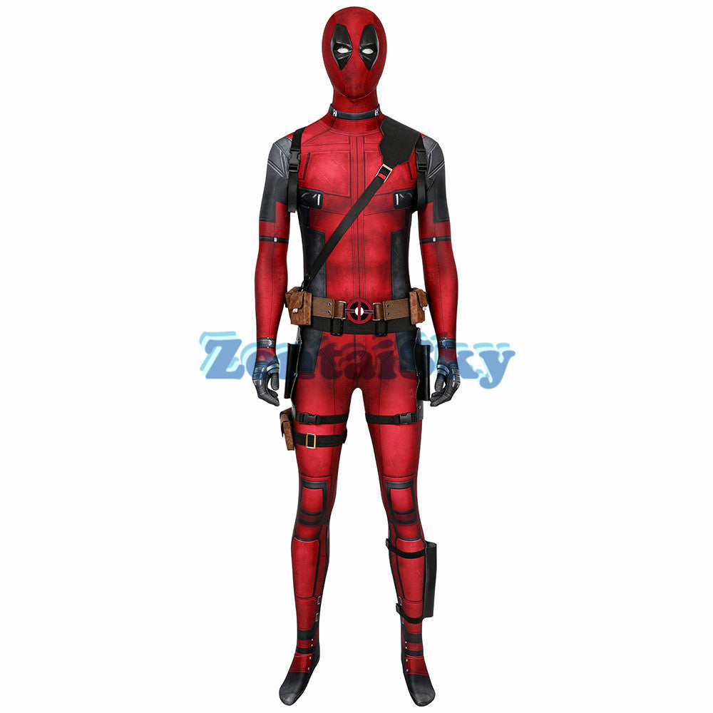 Deadpool Cosplay Suit Wade Wilson 3D Printed Cosplay Costume