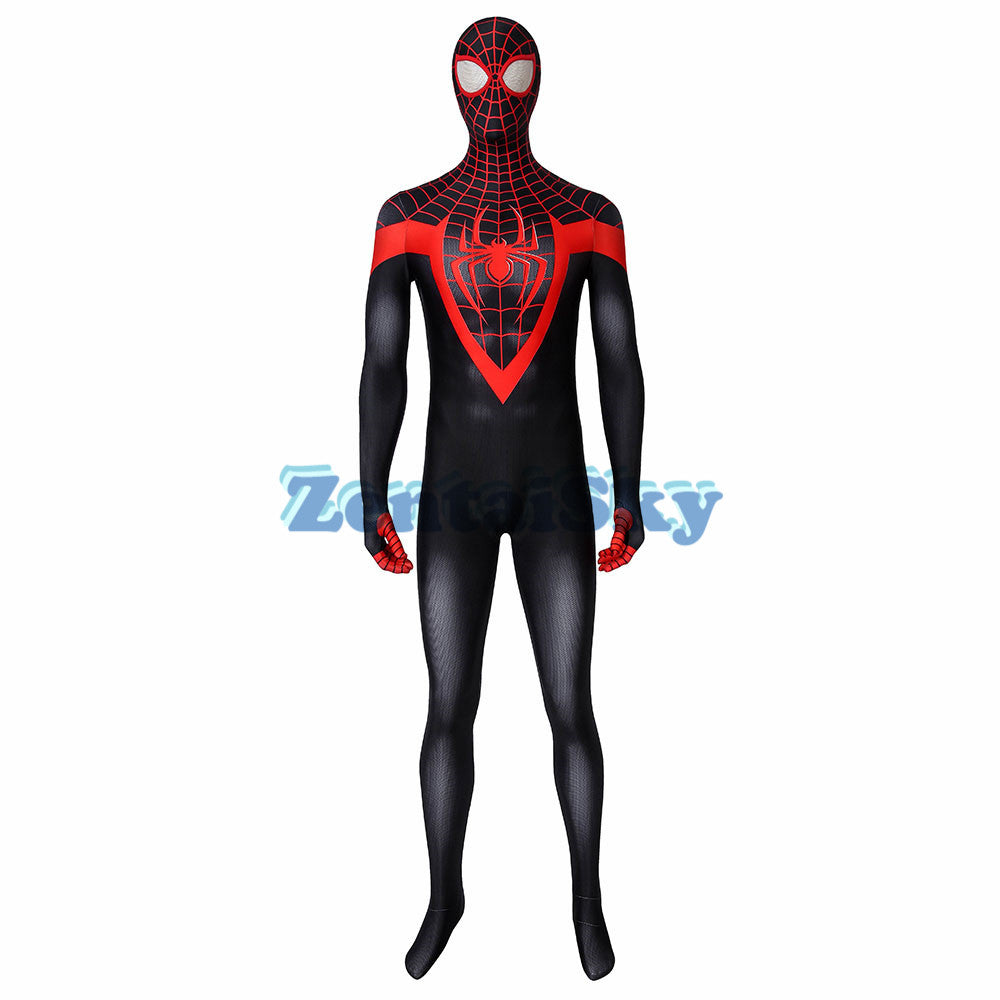Spider-man PS5 Miles Morales Cosplay Suit 3D Printed Zentai Costume