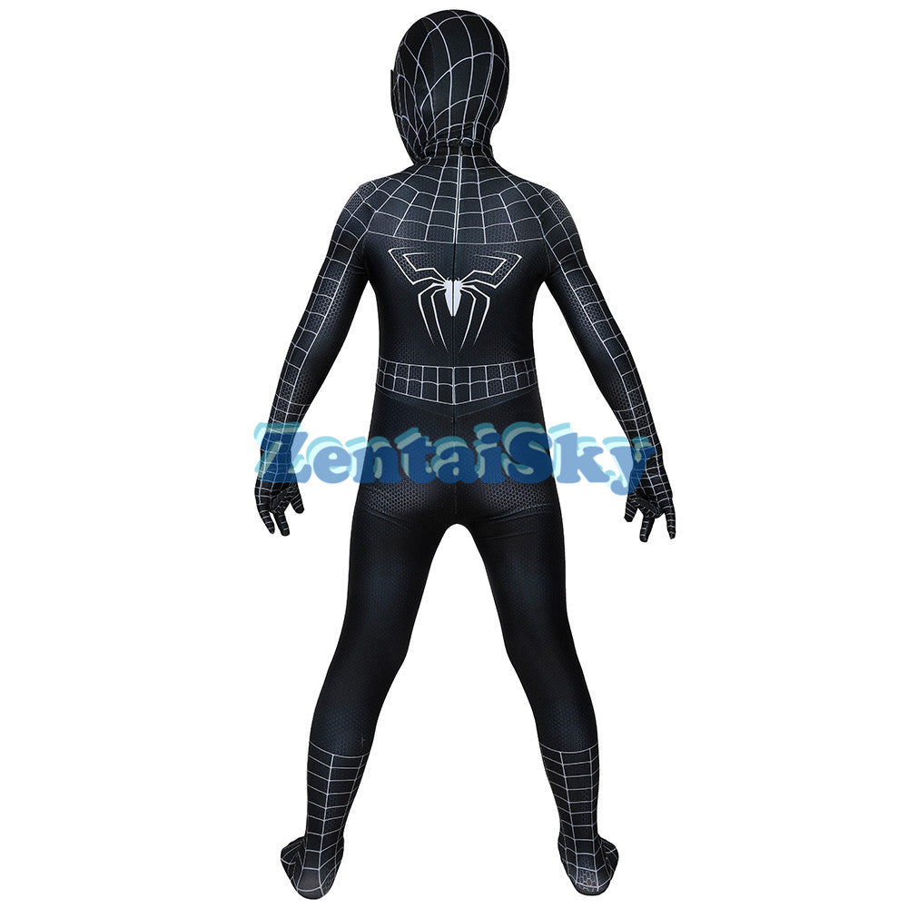 Venom Kids Cosplay Suit Printed Halloween Venom Costume For Children