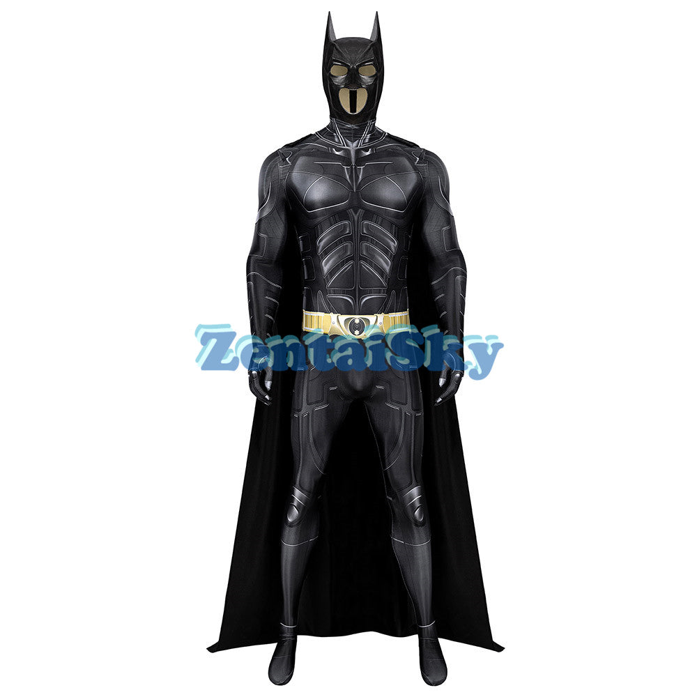 Batman Cosplay Suit Printed The Dark Knight Rises BatSuit Zentai Costume