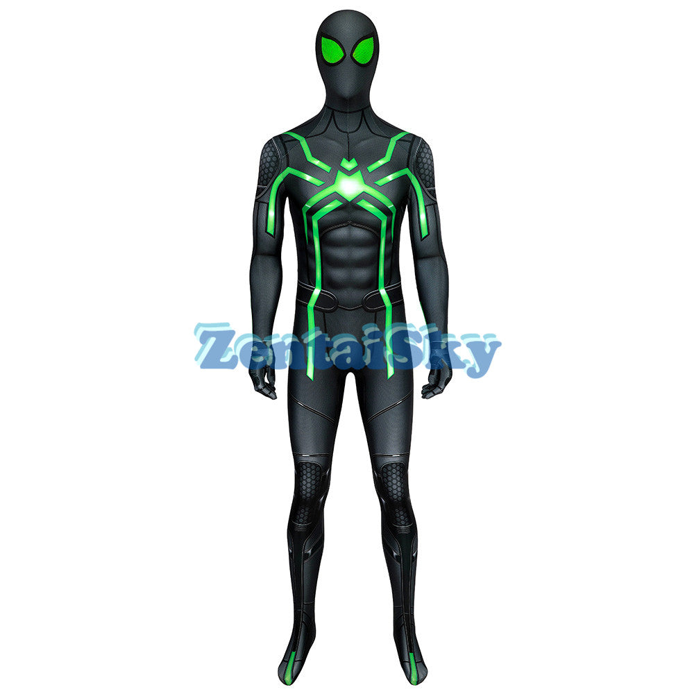 Spider-man Stealth Big Time Cosplay Suit 3D Printed Zentai Costume