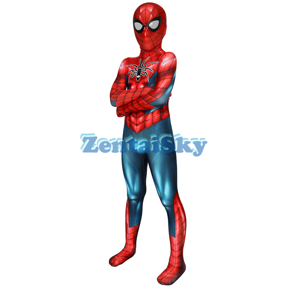 Spider-man Kids Armor-MK IV Cosplay Suit For Children Halloween Cosplay