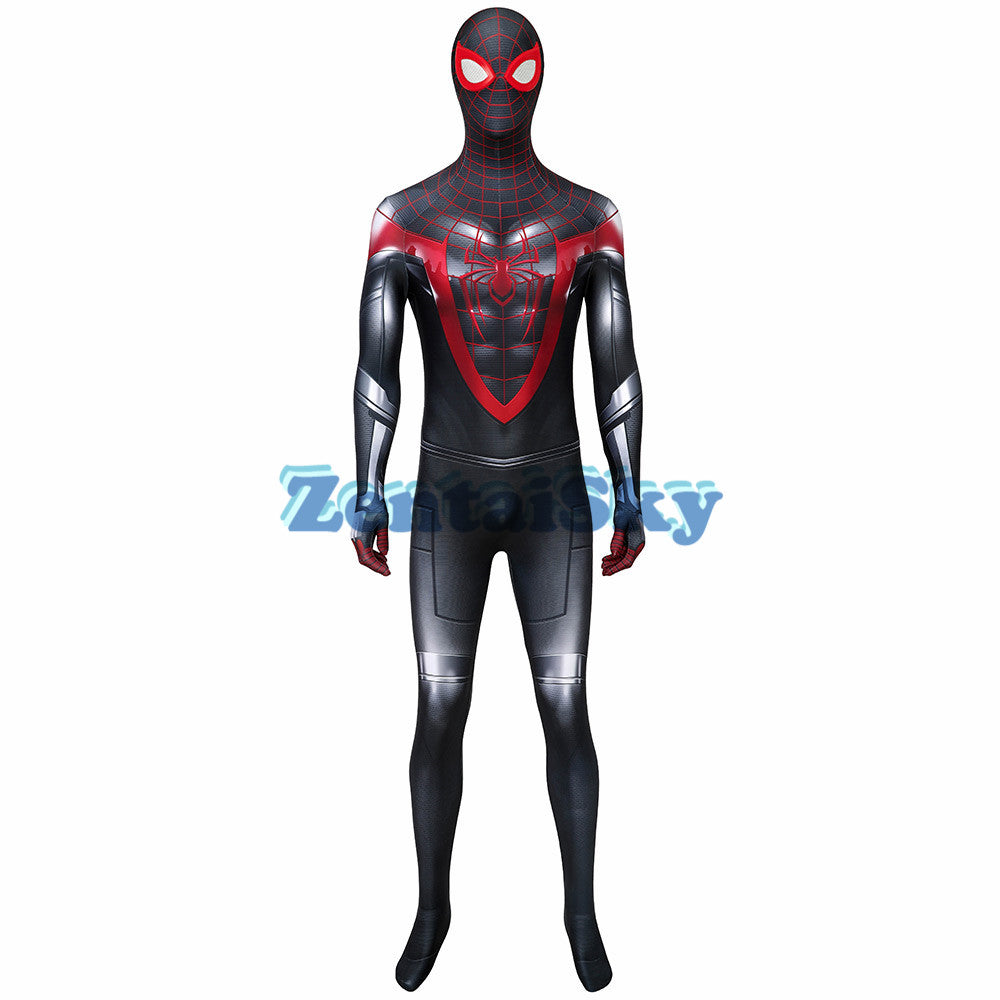 Spider-man PS5 Cosplay Suit 3D Printed Miles Morales Zentai Costume
