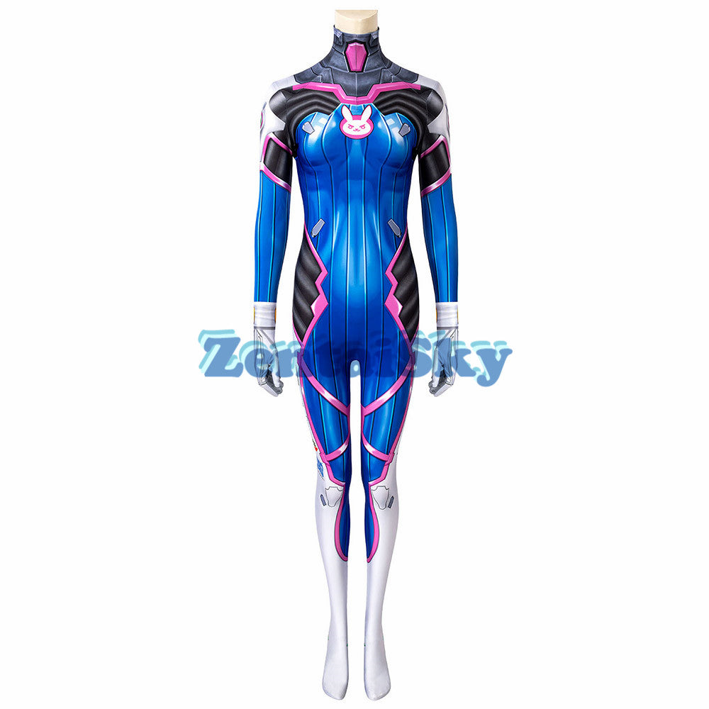 Overwatch D.Va Cosplay Suit 3D Printed Zentai Costume