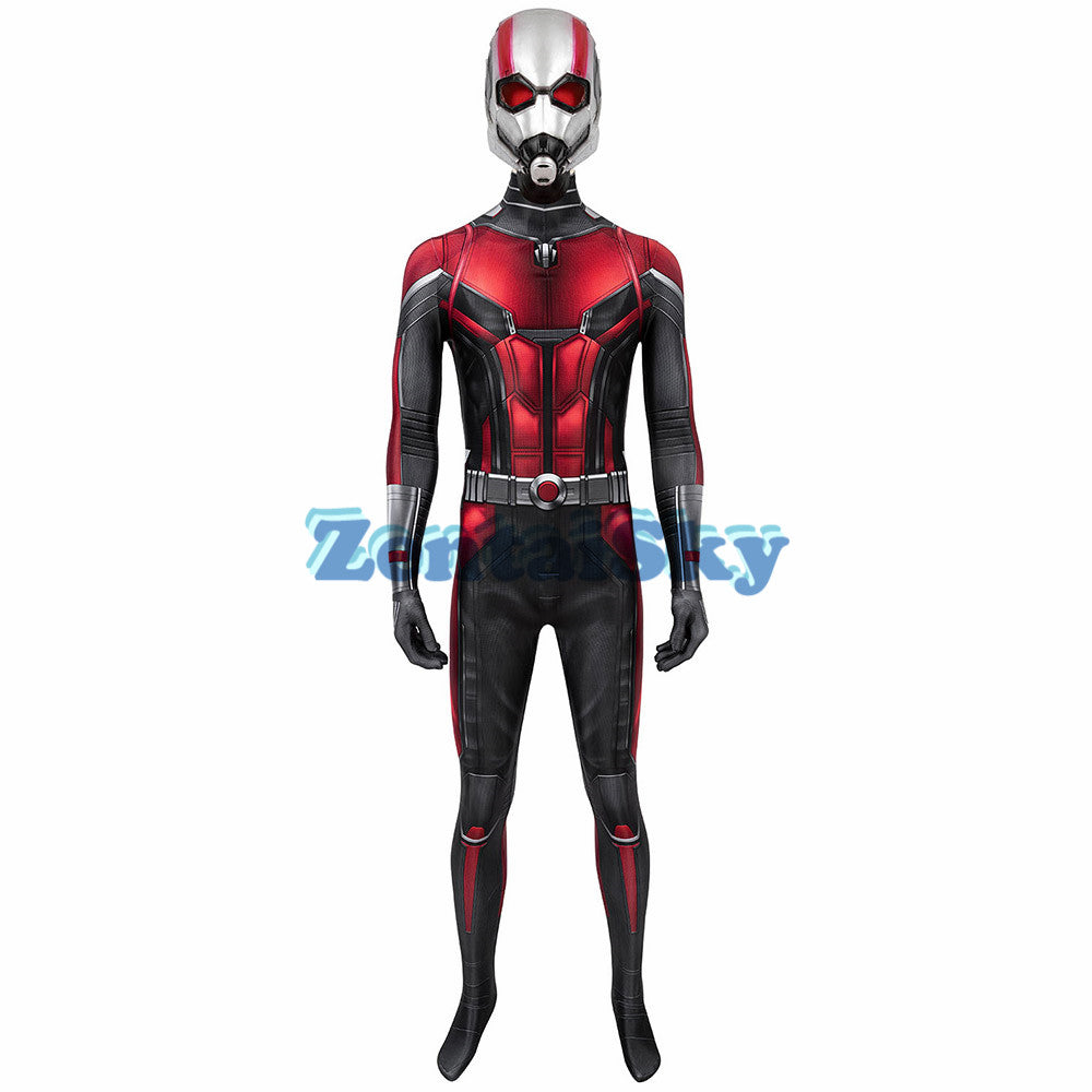 Ant-man Cosplay Suit Spandex Ant-man Printed Zentai Costume