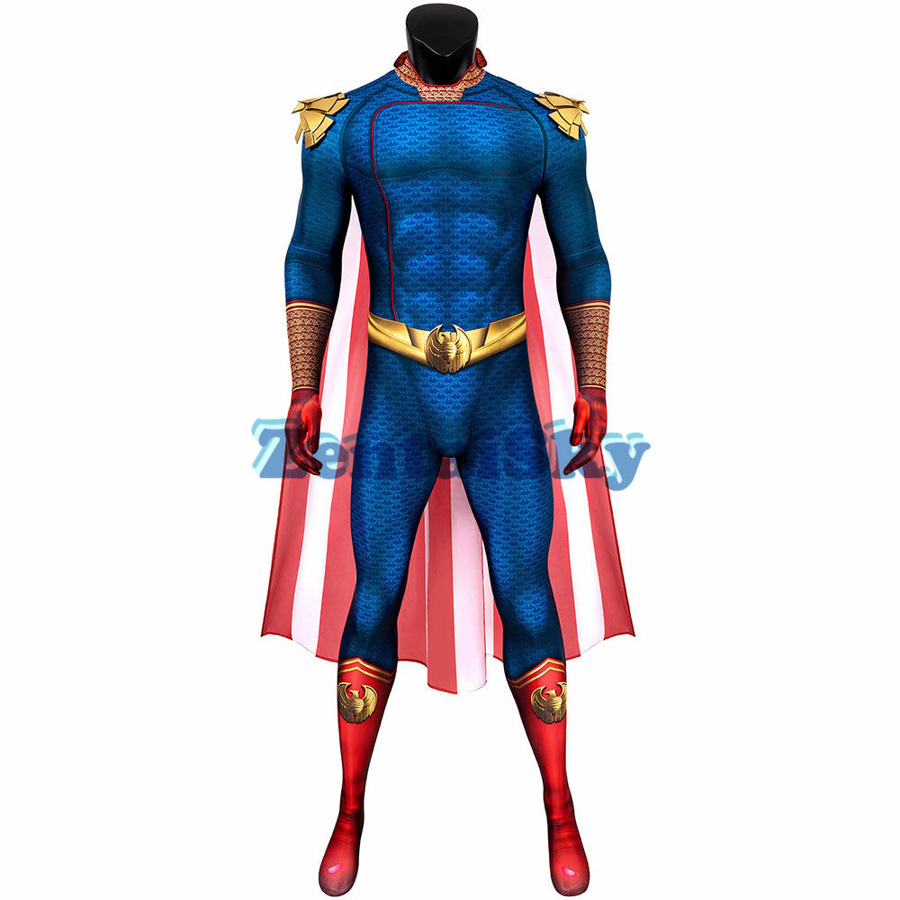 The Boys Homelander Cosplay Suit 3D Printed Homelander Zentai Costume