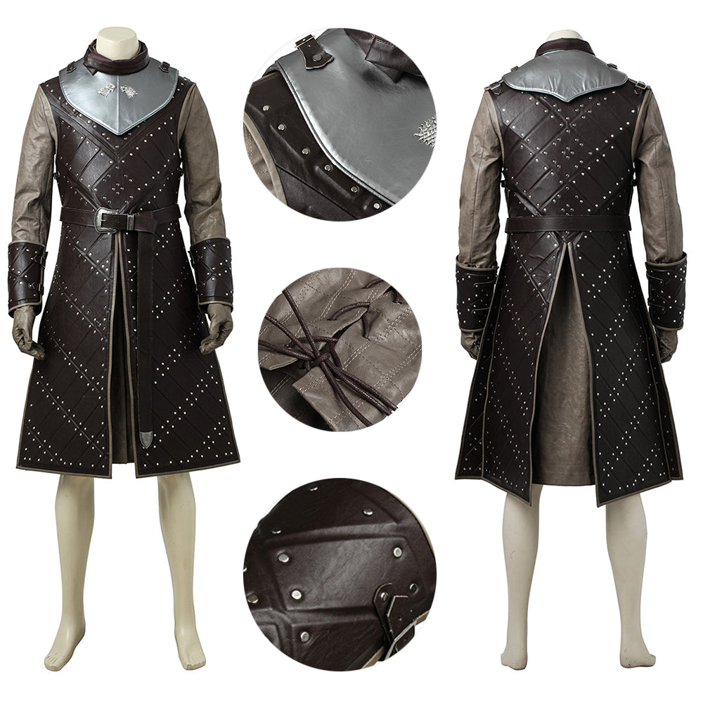 Jon Snow Costume Game of Thrones Season 7 Jon Snow Cosplay Armor