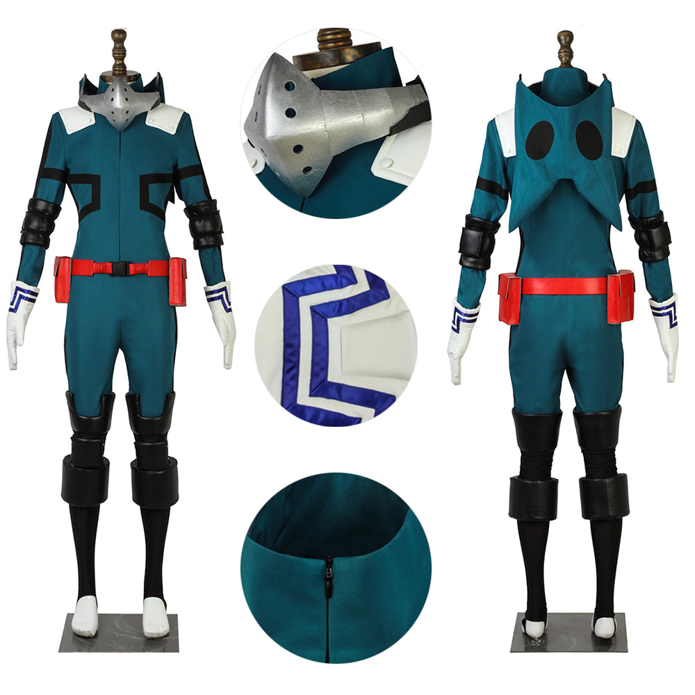 My Hero Academia Cosplay Costume Midoriya Izuku Hero Suit