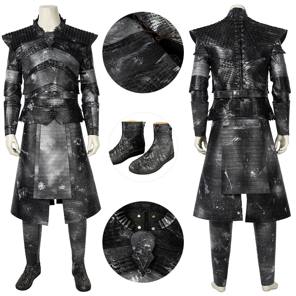 Night King Cosplay Costumes Game of Thrones S8 Night King Cosplay Suit