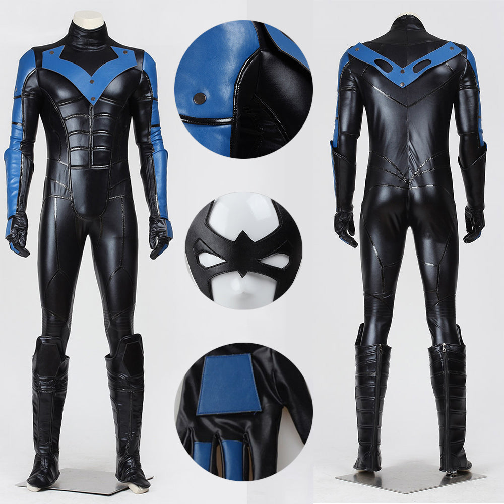 Nightwing Cosplay Suit Dick Grayson Cosplay Costume