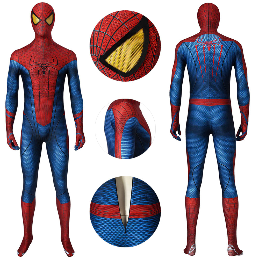 The Amazing Spider-Man Suit Peter Parker HD Printed Cosplay Costumes