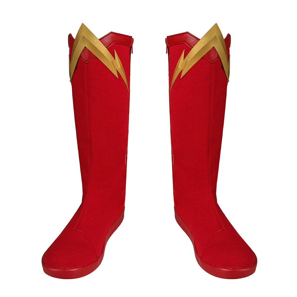 The Flash Cosplay Boots Barry Allen Shoes In Season 6 For Cosplay