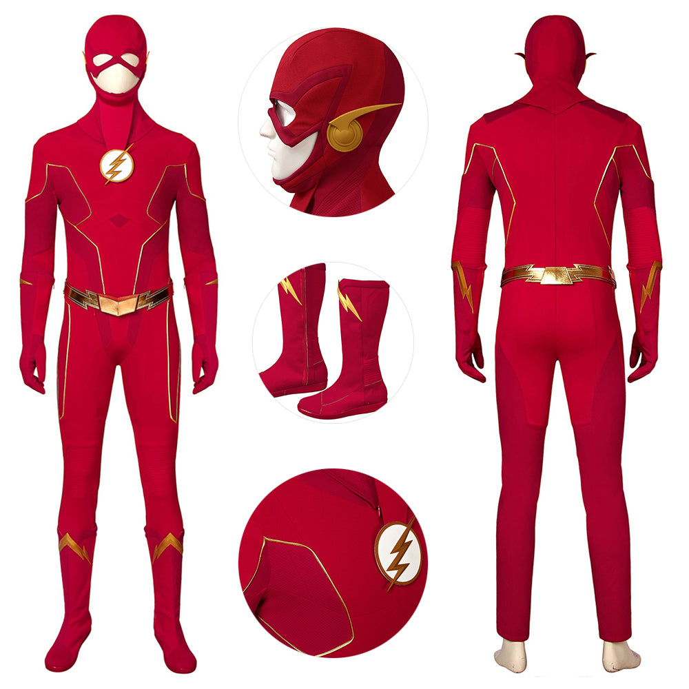 The Flash Season 6 Suit Barry Allen In Season 6 Cosplay Costumes