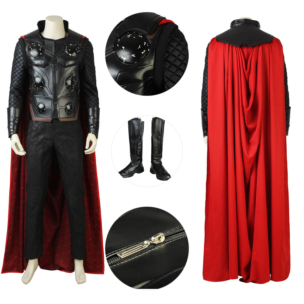 Thor Cosplay Costume The Avengers Endgame Thor Suit Deluxe Edition