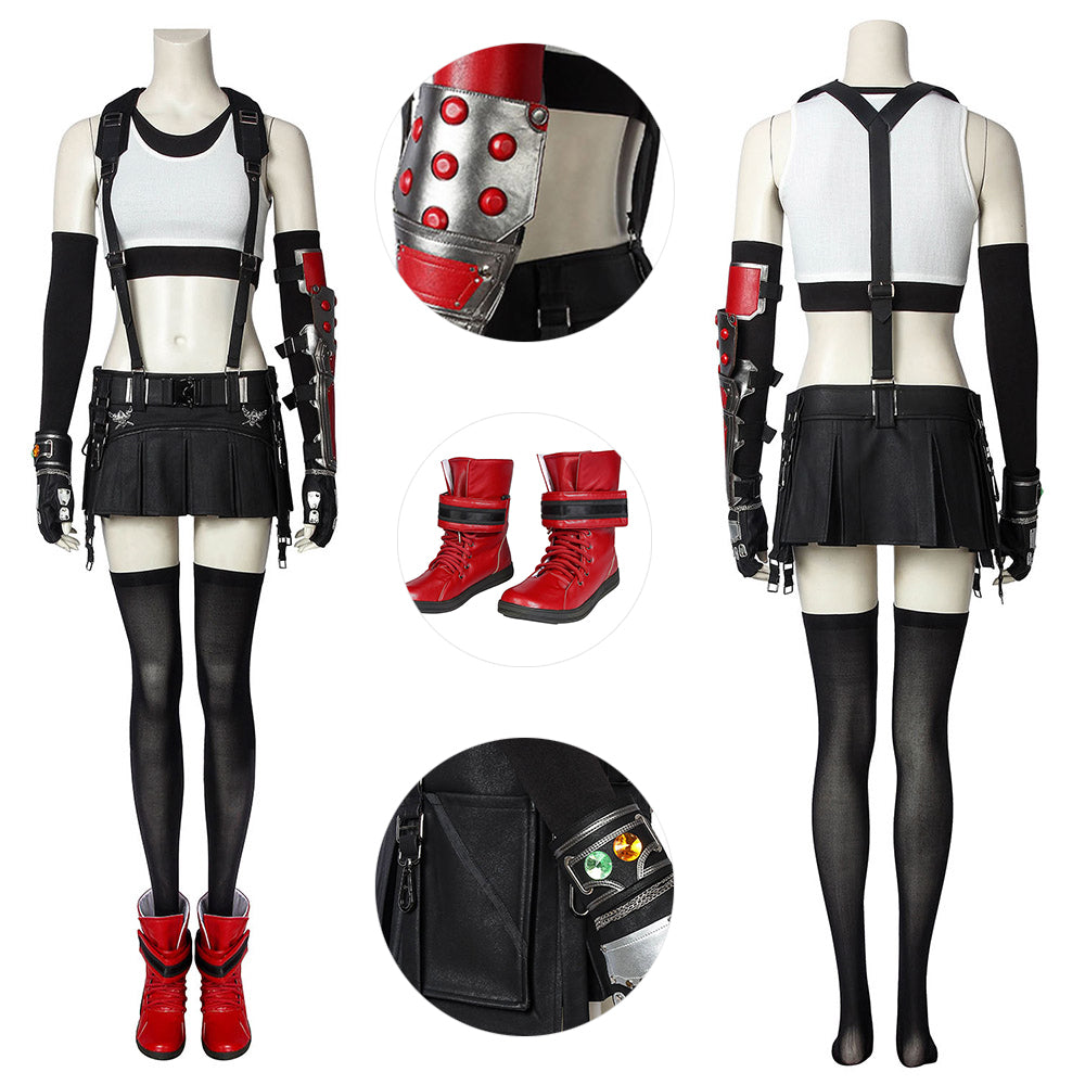Tifa Costumes Final Fantasy VII Tifa Lockhart Cosplay Costumes