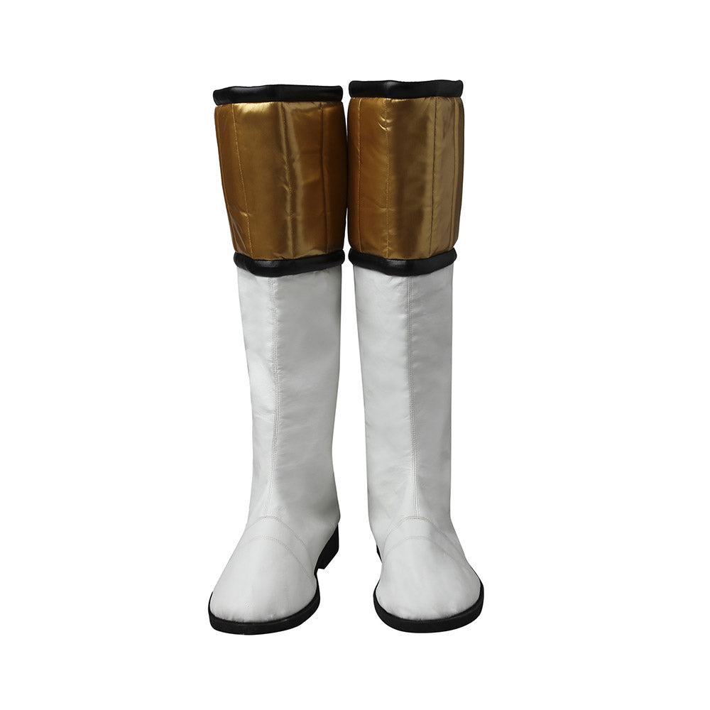 White Ranger Shoes Mighty Morphin White Power Rangers Cosplay Boots
