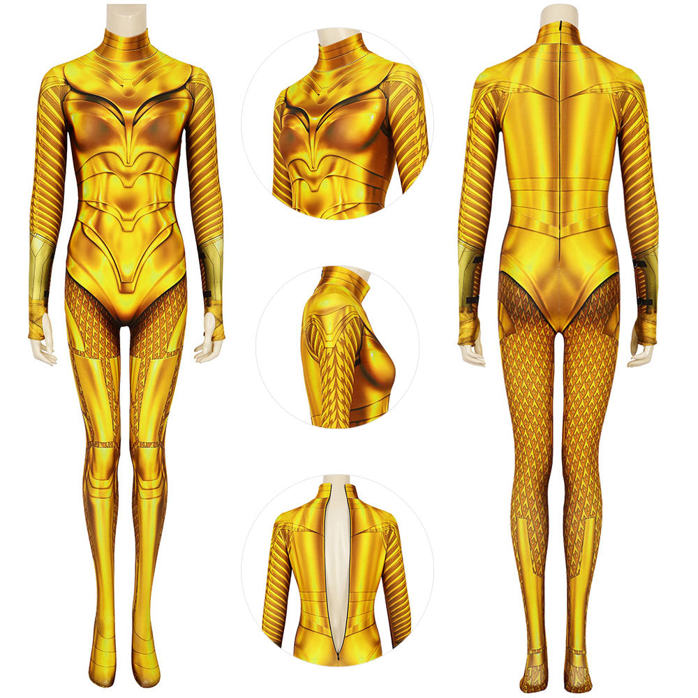 Wonder Woman Spandex Cosplay 3D Printed Suit Diana Prince Cosplay Costume For Female
