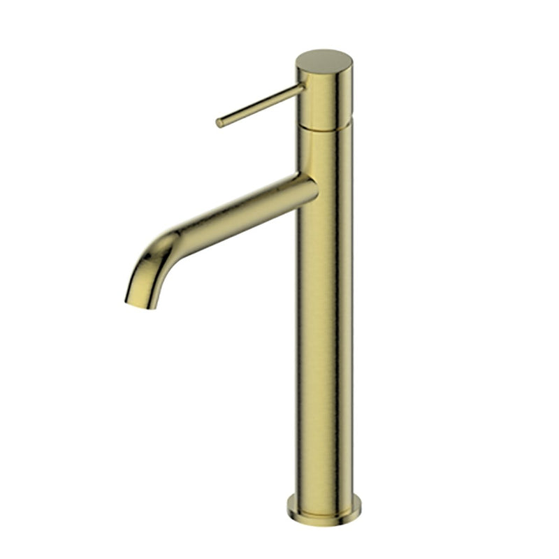 Greens Gisele 18402566 Tower Basin Mixer - Brushed Brass