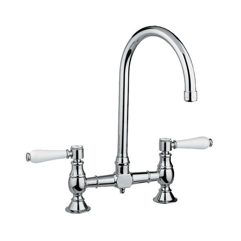 Armando Vicario 400160 Provincial Exposed Breach Kitchen Mixer Tap