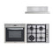 60cm Oven, Cooktop and Rangehood Package No.1