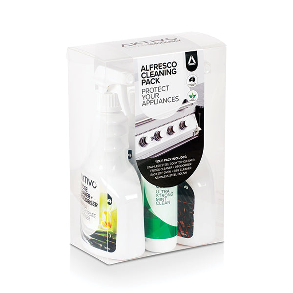 Australian Made - AKTIVO Alfresco Outdoor Kitchen Cleaning Pack