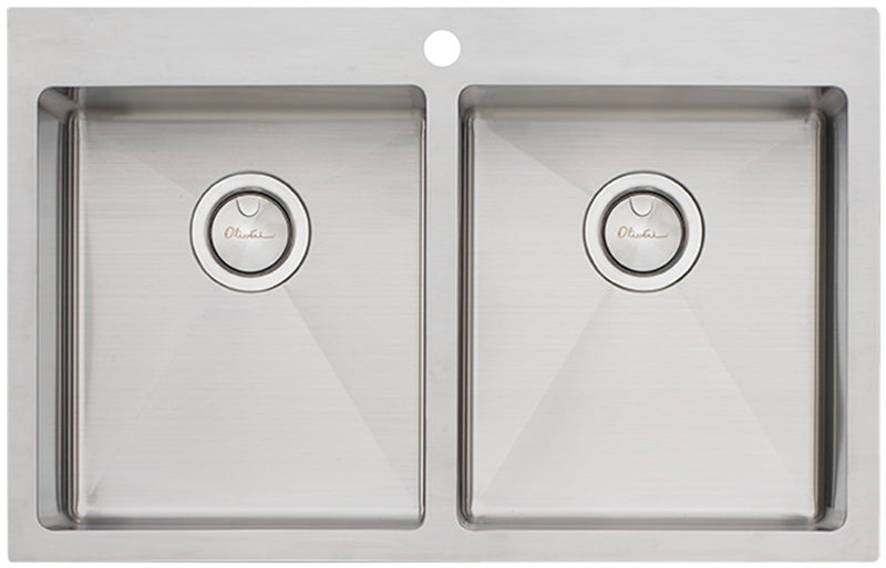 Oliveri AP1464 Apollo Double Bowl Sink