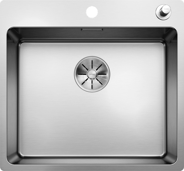 Blanco ANDANO500-IFA Top Mount Kitchen Sink with Tap Ledge