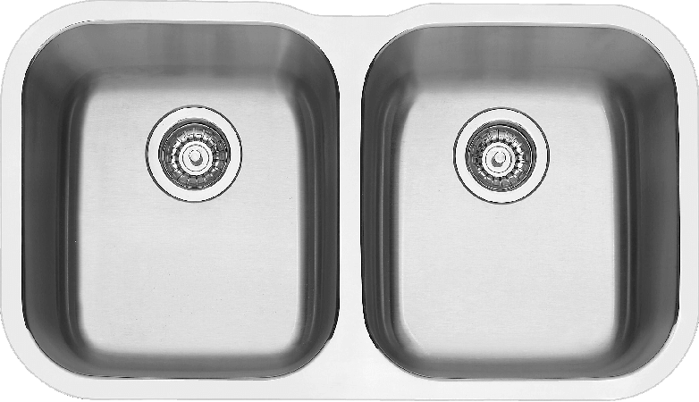 Blanco ESSENTIALU2 Double Bowl Undermount Sink