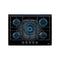 Teka CGWLUX705 71cm 5 Burner Gas on Glass Cooktop
