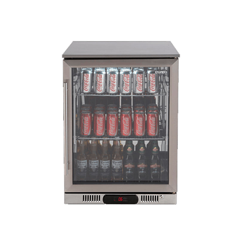 Euro Appliances EA60WFSX2R Single Door Beverage Cooler Fridge
