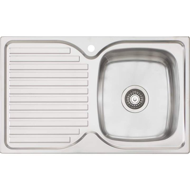 Oliveri Endeavour EE22 Single Bowl Sink With Drainer