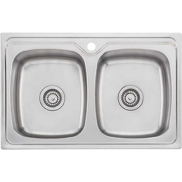 Oliveri Endeavour EE23TU Double Bowl Sink