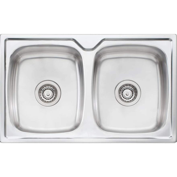 Oliveri Endeavour EE64 Double Bowl Sink