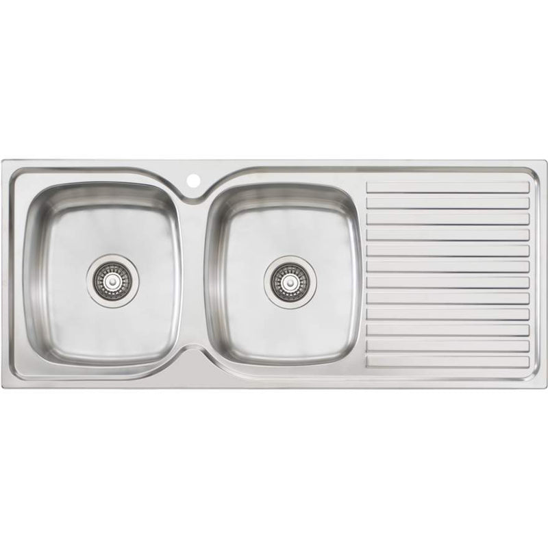 Oliveri Endeavour EE71 Single Bowl Sink With Drainer