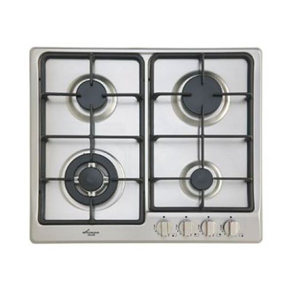 Euro Appliances EGZ60WCTSXS Premium Italian Made Gas Cooktop