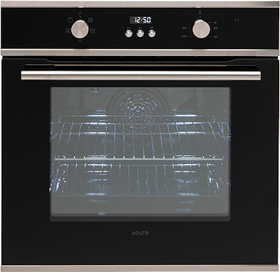 Euro Appliances EO605SX Black & Stainless Steel Electric Oven