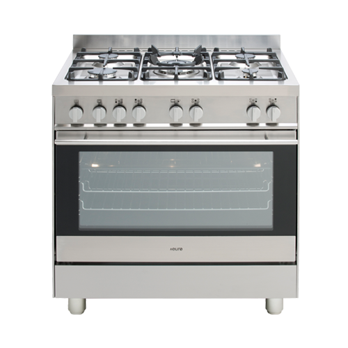 Euro ESG800GUSX 80cm ALL GAS Upright Oven/Stove – New