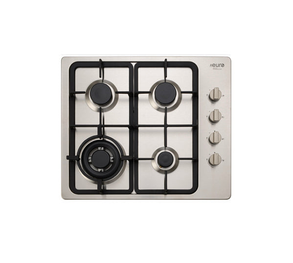 Euro Appliances EV3WCTSFD Stainless Steel Gas Cooktop