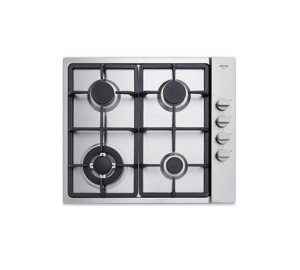 Euro EV3WGCTS Stainless Steel Gas Cooktop