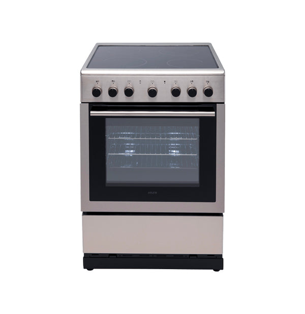 Euro Appliances EV600EESX 60cm Stainless Steel Electric Freestanding Oven/Stove