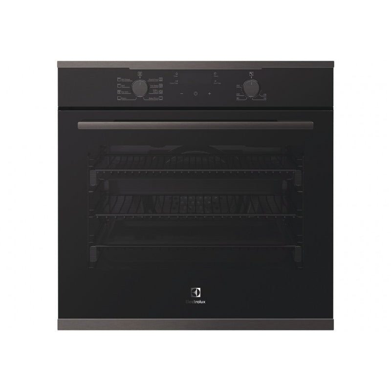 Electrolux EVE614DSD 60cm Dark Steel Electric Oven - Electrolux Seconds Stock