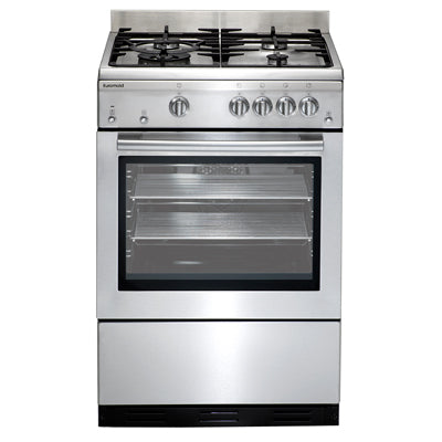 Euromaid GEGFS60 60cm Stainless Steel Gas Stove - Ex Display Unit