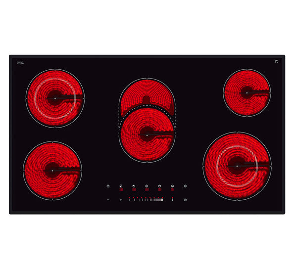 InAlto ICC905TB 90cm Ceramic Touch Control Cooktop