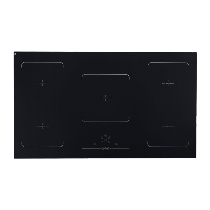 Belling IHF90BR UK Made 90cm Induction Cooktop with Link+
