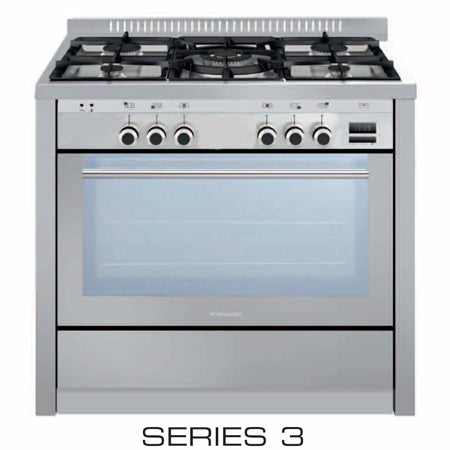 Glem Italian Made ML96MVI3 Monolith 90cm Full Gas Stove – Ex Display