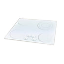 Omega OA2609 White Ceramic 4 Burner Electric Cooktop