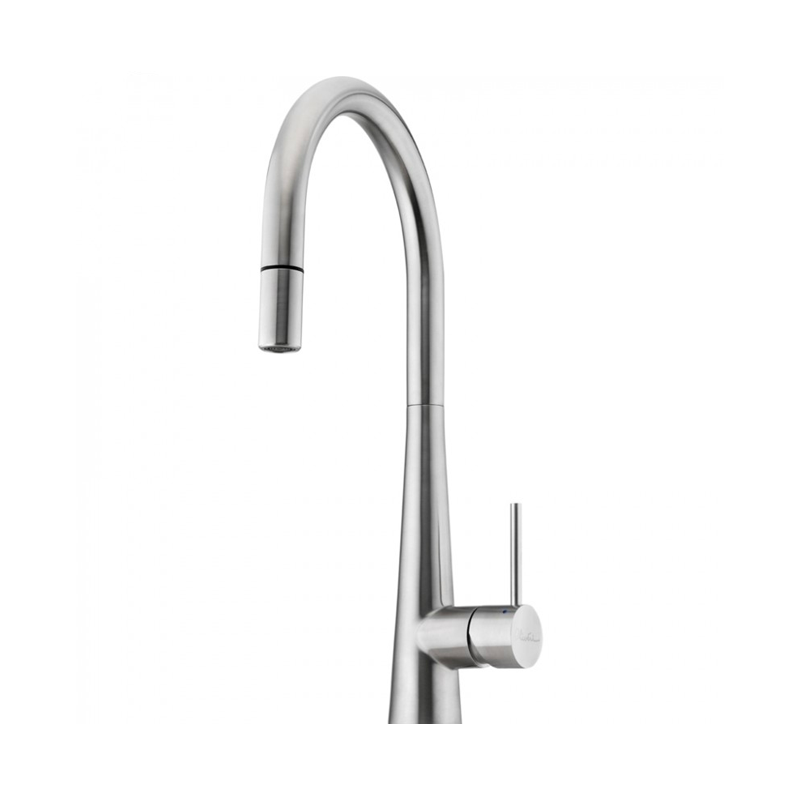 Oliveri SS2525 Essente Goose Neck Pull Out Mixer Tap