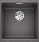 Blanco SUBLINE400UGK5 Granite Kitchen Sink - Rock Grey