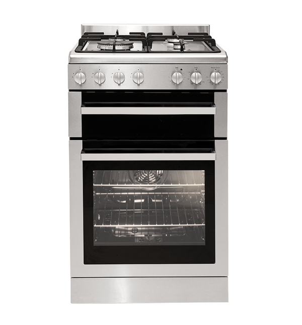 Euromaid 54cm Gas Oven + Gas Cooktop FSG54S